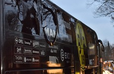 Champions League tie postponed after explosions near Dortmund team bus injure player
