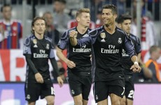 Advantage Real Madrid as Ronaldo's 100th European goal puts holders in the driving seat