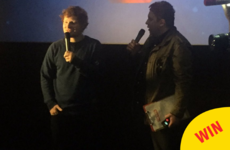 Ed Sheeran surprised a bunch of fans at a Dublin cinema with tickets to his gig