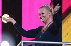Kim Woodburn likes to be spanked with lettuce leaves... It's the Dredge