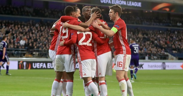 As it happened: Anderlecht v Manchester United, Europa League