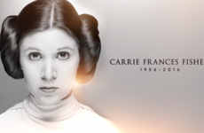 Star Wars' official tribute to Carrie Fisher is absolutely beautiful