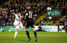 Sheppard's stunner ensures it's a great Friday for Cork City as their remarkable run continues