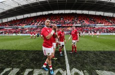 'Get it to me!' Simon Zebo was mic'd up during Munster's win over Ulster
