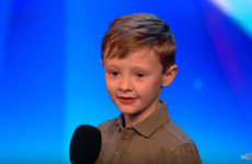 A cute 8-year-old comedian stunned Amanda Holden with a risqué joke on Britain's Got Talent