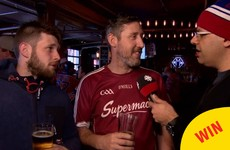 An Irishman in a Galway jersey popped up on Canadian TV and gave the best interview