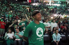 Grieving Boston Celtics star hits 33 points just one day after the death of his little sister