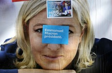 Latest poll has Le Pen and Macron head-to-head in French presidential race