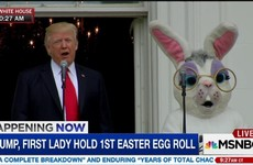 15 of the quickest reactions to Trump's appearance with the Easter Bunny
