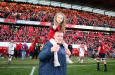 'I'm a father, I'm a husband, then I'm a rugby player' - Munster's Earls