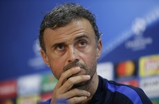 We're going out to score five against Juve - Luis Enrique