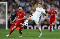 As it happened: Real Madrid v Bayern Munich, Champions League quarter-final second leg
