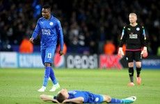 Leicester's Champions League dream ended by Atletico