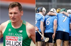 Two-time European  indoor athletics champion working with Dublin hurlers