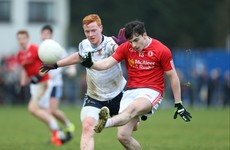 Watch: Tyrone U21 and senior panelist kicks 3-14 in club game