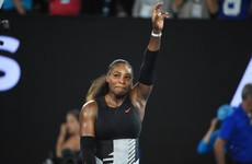 Was Serena Williams 8 weeks pregnant when she won the Australian Open?