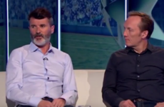 'The guy's a genius' - Roy Keane again gushed about former team-mate Ronaldo last night