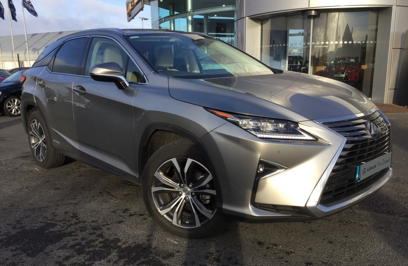 The Lexus Rx450h Luxury Suv Is A Futuristic Looking Head