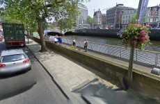 Man rescued from River Liffey in Dublin city centre