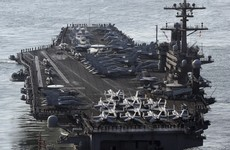 Supercarrier the USS Carl Vinson will arrive in the Sea of Japan 'within days'