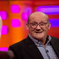 Brendan O'Carroll told a fan with the Mrs Brown's Boys cast tattooed on his back to 'get a f**king life'