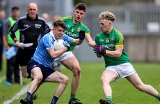 Dublin minors complete stunning comeback to defeat Meath after trailing by 10 points at half-time