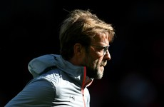Liverpool boss Klopp admits to having 'a few words' following frustrating defeat to Palace