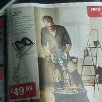 We need to talk about the model in the Lidl catalogue who looks exactly like Bono