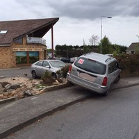 Gardaí thank 'civic-minded locals' who followed driver of crashed car