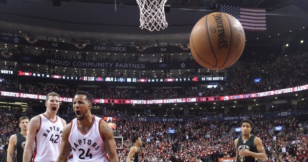 After being ridiculed with Barney music, Raptors take control of enthralling Bucks series