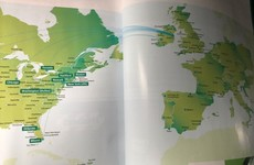 Aer Lingus had a particularly sound exchange with Icelandair after leaving their country off a map