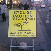 'Lethal', 'insane' - cyclists have their say on what it's like dealing with the Luas expansion works