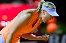 'The best feeling in the world' as Sharapova makes winning return following 15-month ban