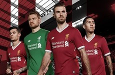 Here's the first look at Liverpool's new home jersey - and it's a beauty