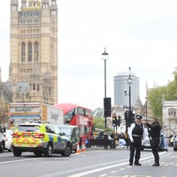 Man found with knives arrested near UK Houses of Parliament
