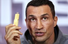Klitschko records fight prediction on USB stick which he'll auction off for charity