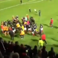 Police investigate after disorder at Belfast football final