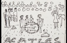 All John Lennon's idea? Sketch of iconic Sgt Pepper's album cover to fetch €55k at auction