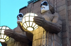 Finland's main train station gets a makeover just in time for a Kiss concert
