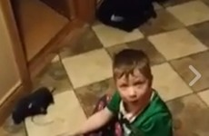 A four-year-old boy in Sligo claiming he's moving house because he doesn't want to go to bed is just the best