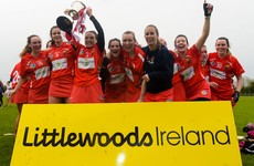 Cork cruise past Derry to lift Division 2 crown, while Dublin defeat Rossies to take Division 3 title
