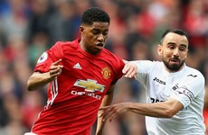 Swansea's Fabianski 'furious' with Marcus Rashford dive
