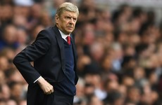 'Mathematically it has to happen once' - Finishing above Spurs never Wenger's target