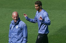 Zidane: Ronaldo's 'goalscoring ability' makes me jealous
