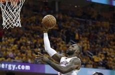 LeBron nails off-the-backboard alley-oop as Cavs see off Raptors
