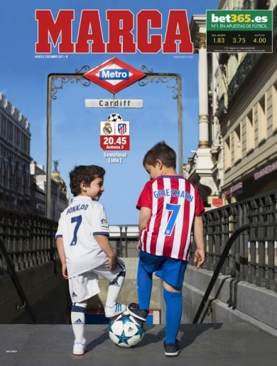 Atleti not motivated by revenge in tonight's Champions League Madrid derby