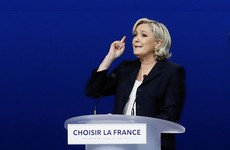 Marine Le Pen plagiarised one of her rivals in a campaign speech last night