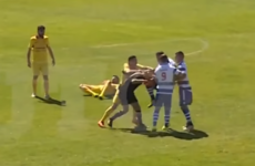 Portuguese 'thug' hit with four-year ban for breaking referee's nose with knee to face