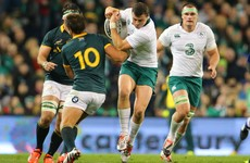 Ireland to renew battle with South Africa as 2017 November internationals confirmed
