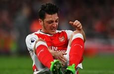 Arsene Wenger apologises for Mesut Ozil's White Hart Lane outburst